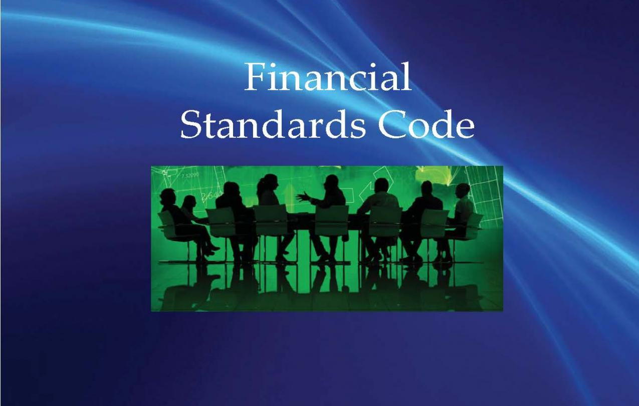 Financial Standards Code