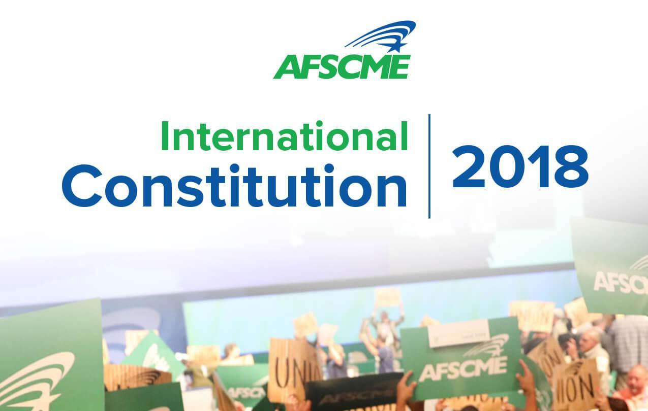 AFSCME Constitution